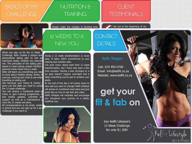 Kelfit Brochure Design